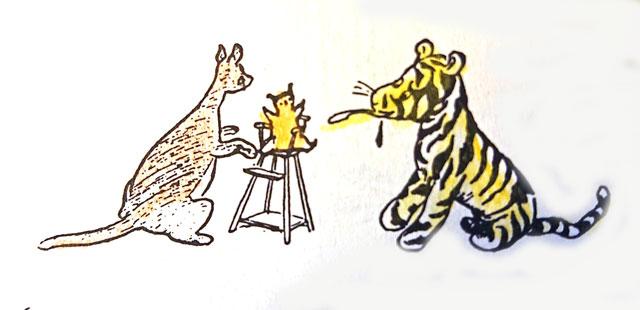 Ch.2-2 「ティガーはハチミツが嫌い。」